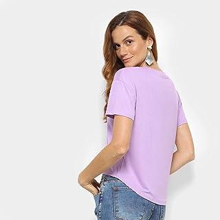 Camiseta Forwhy Ilhós Barra Feminina