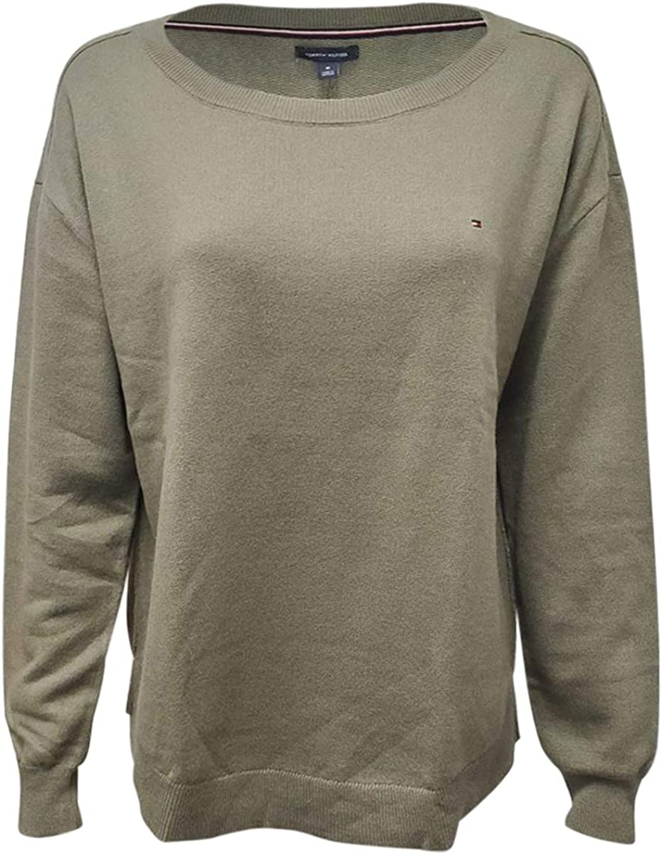 Tommy Hilfiger Women's Classic Crewneck Pullover Sweater