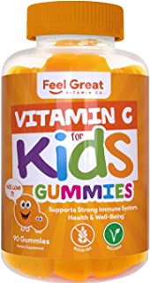 Sponsored Ad - Feel Great Vitamin Co. Vitamin C Gummies for Kids   Supports a Strong Immune System and a Healthy Heart   P...