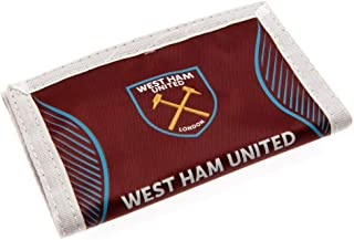 West Ham United FC Touch Fastening Nylon Wallet