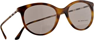 Burberry B 2244-Q Eyeglasses 52-18-140 Light Havana w/Demo Clear Lens 3316 BE2244Q BE2244-Q B2244Q