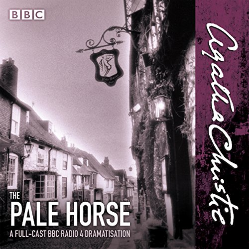 The Pale Horse     A New BBC Radio 4 Full-Cast Dramatisation              By:                                                                                                                                 Agatha Christie                               Narrated by:                                                                                                                                 Jason Hughes,                                                                                        Eleanor Bron,                                                                                        Full Cast                      Length: 1 hr and 21 mins     4 ratings     Overall 5.0