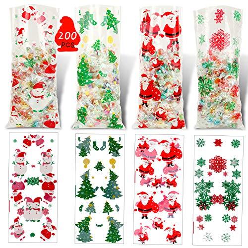 Wilk Gift Bag di Stagione Decorazioni Puntelli Calza della Befana Noel Renna di Babbo Natale Pupazzo di Neve Calzini Natale Xmas Tree Candy Ornamento Regali di Capodanno
