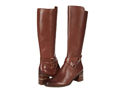Naturalizer Shore Regular Shaft (Lodge Brown Leather) Women