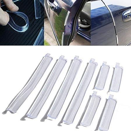 5m Schwarz Schutz Tür kanten schutz Türrammschutz Schutzleisten schoner Auto KFZ