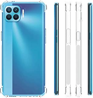 Oppo A93 / Oppo F17 Pro/Oppo Reno 4 Lite Case Cover Back Air Cushion Soft Silicone Shockproof Ultra Slim Premium Material ...