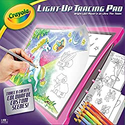 Batteries required: 3 x AA (not included) plus . For ages 3 years and over. Tracing Pad lets kids trace