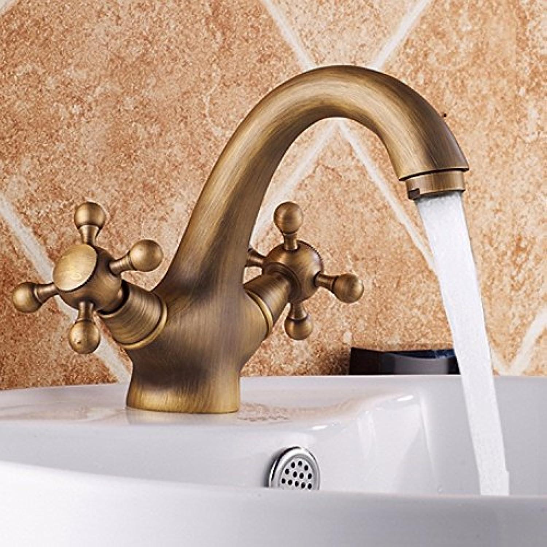 Lvsede Bad Wasserhahn Design Küchenarmatur Niederdruck Alle Kupfer Heies Und Kaltes Wasser Doppelgriff Waschbecken Mischbatterie L6004