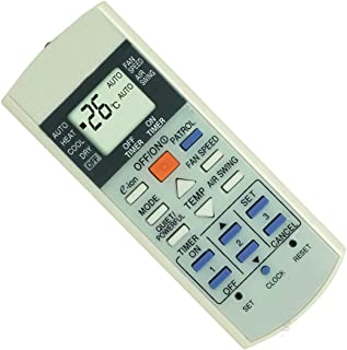 Generic Replacement Air Conditioner Remote Control for Panasonic A75c3058 A75c3068 A75c2988 A75c2604 A75c3169 A75c3173 A75c2989 A75c2582 ...