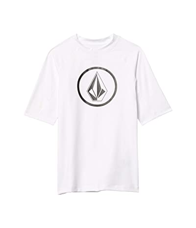 Volcom Kids Lido Solid (Big Kids) (White) Boy