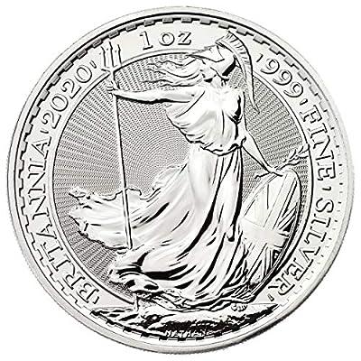 2020 UK 1 oz British Silver Britannia Coin Brilliant Pound Uncirculated