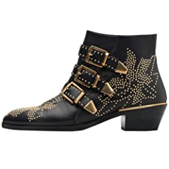 a94fc16aadd22 Mid heel studded shoes - Ankle & Bootie - Casual Women's Shoes