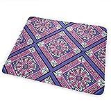 Babydesign Wickelauflage,Lila Pink Diamond Pattern Durable Premium Windel Wickelunterlagen Für Jungen Und Mädchen 50x70cm
