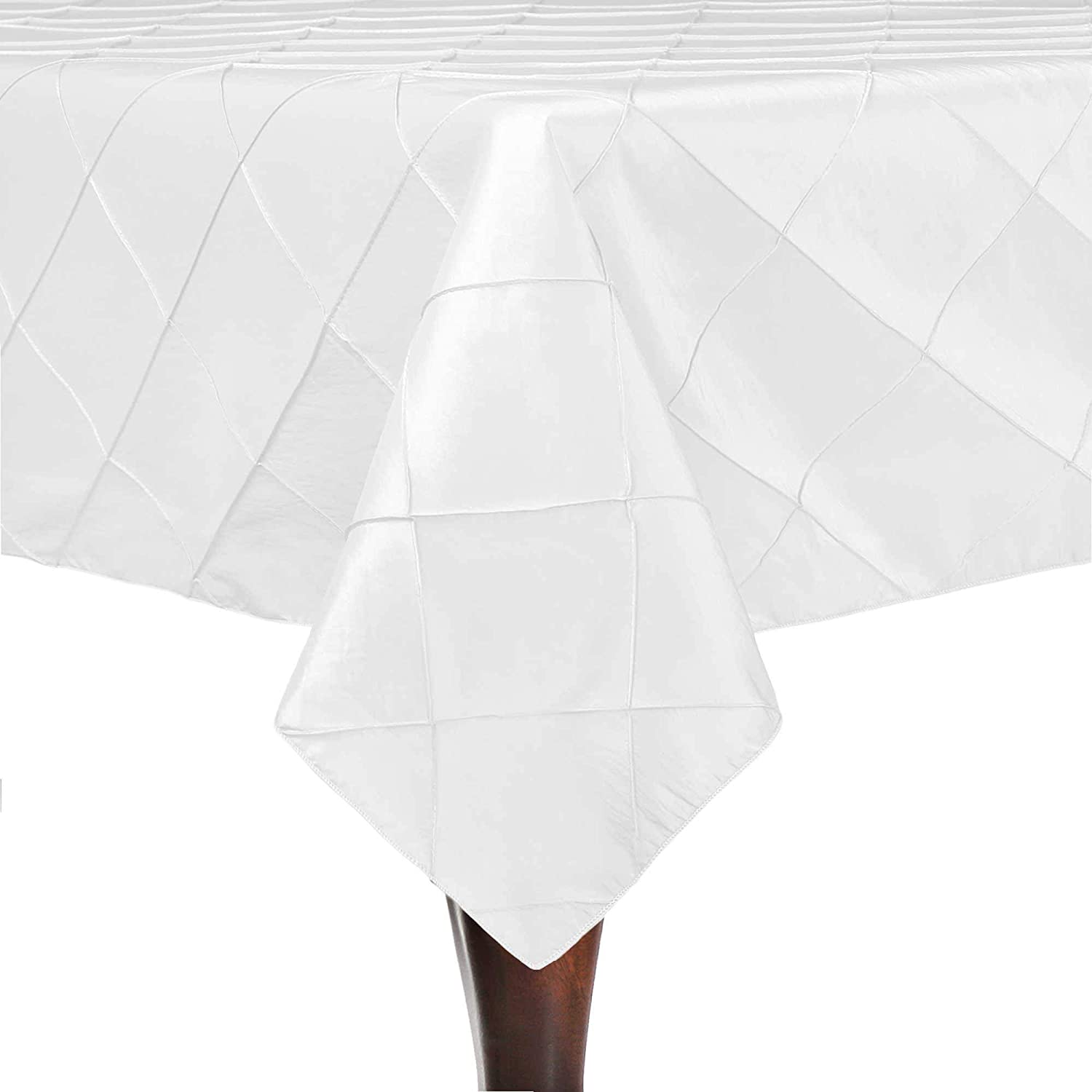 Ultimate Textile -3 Pack- Embroidered Limited price sale Pintuck Bargain 48 Taffeta x 52-In