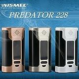 WISMEC 【電池2本付き】 PREDATOR 228 Battery ウィズメック[プレデター228バッテリー] (Gold)