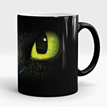 New Coffee Mug How To Train Your Dragon Coffee Cup Thermal Reaction Color Sensitive Warm Mark Cup (style 3)