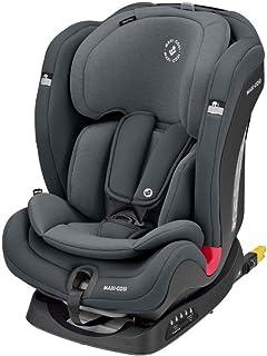 Maxi-Cosi Titan Plus Silla Coche bebé grupo 1/2/3 isofix, 9 - 36 kg, silla auto bebé reclinable con reductor, Clima Flow para el control de la temperatura, crece con el niño 9 meses- 12 años, graphite