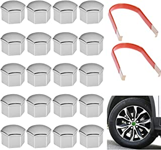 Best silver wheel nut covers Reviews