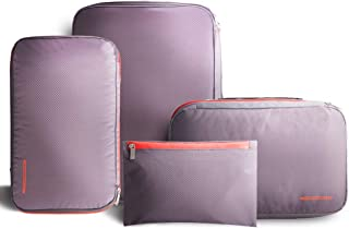 BeeNesting Waterproof Compression Packing Cubes Packing organizers 4 sets for travel carry on Group4