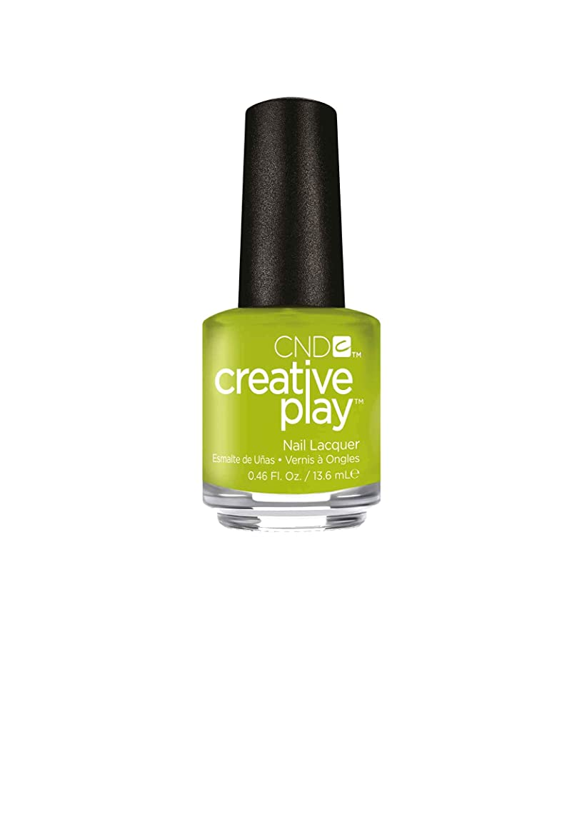 クラウドオートうめき声CND Creative Play Lacquer - Toe the Lime - 0.46oz / 13.6ml