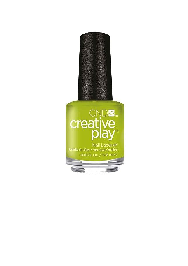 作家黙アブストラクトCND Creative Play Lacquer - Toe the Lime - 0.46oz / 13.6ml