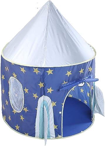 Kinder Spiel Zelt Kinder Faltbare Pop Up Zelt Spiel Zimmer Spielzeug Haus Für Indoor Und Outdoor Garten Verwenden Als Geschenk (Blau)