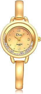 Womens Quartz Watches,Hotkey Unique Analog Fashion Elegant Clearance Rhinestone Alloy Lady Watches Female Watches on Sale Watches for Women,Round Dial Case C83