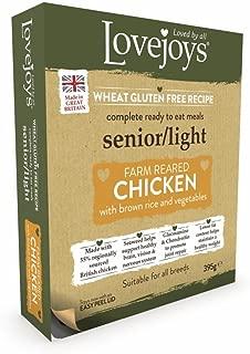 Lovejoys Complete Wet Senior Light Dog Food Chicken Rice and Vegetables, 395 g