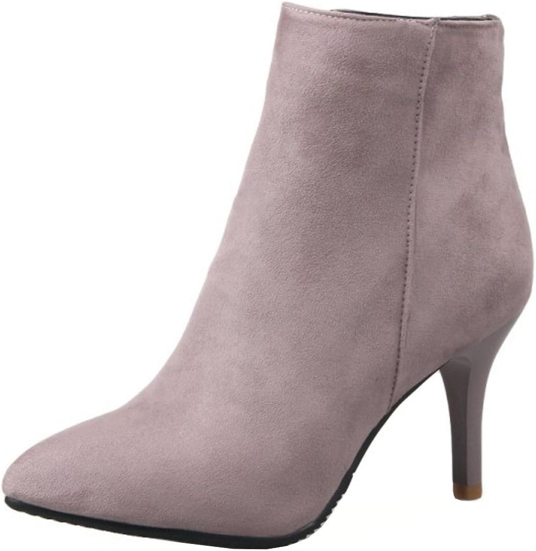 KemeKiss Women's Fashion Stiletto High Heel Ankle Boots
