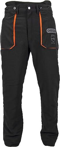 Oregon Pantalon de Protection Yukon Type A Classe 1 (20m/s), Pantalon de Sécurité Léger pour Tronçonneuse, Travail en...