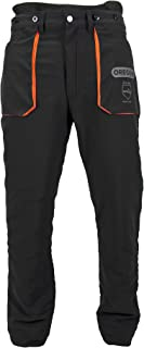 Oregon Type A Class 1 (20m/s) Yukon Protective Trouser, Lightweight Safety Chainsaw/Workwear/Outdoor Protection Trousers, ...
