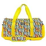 Loungefly x Pikachu Starters All Over Print Nylon Duffle Bag Training Travel Gym Bag