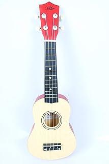 Ukulele guitar 21 inch beige with bag