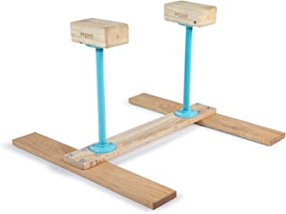 Handstand Canes; H-Base for Fitness, Yoga, Gymnastics, Calisthenics, Acrobatics