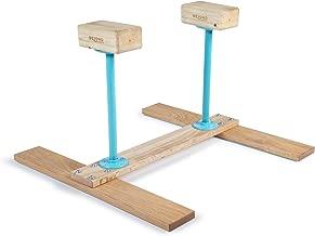Handstand Canes; H-Base for Fitness, Yoga, Gymnastics, Calisthenics, Acrobatics