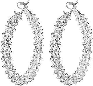 Elistelle irregolare geometrico Circle orecchini gioielli donna orecchini set gioielli