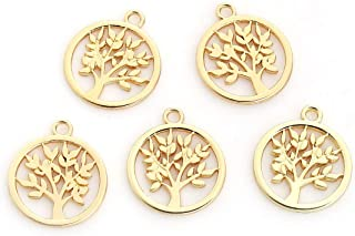 Best 10k gold charms wholesale Reviews