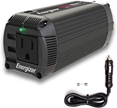 $35 » Sponsored Ad - Energizer 150 Watts Dual Mode Cup Power Inverter 12V to 110V, Modified Sine Wave Car Inverter, DC to AC Con...