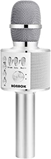 BONAOK Wireless Bluetooth Karaoke Microphone,3-in-1 Portable Handheld Karaoke Mic Speaker..