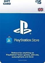 PlayStation PSN Card 15 GBP Wallet Top Up   PS5/PS4   PSN Download Code - UK account