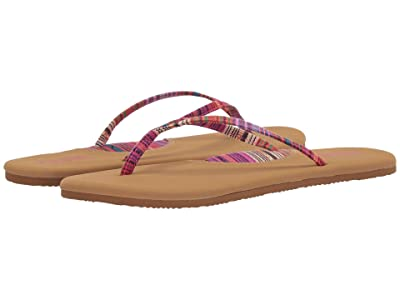 Flojos Hula Textile Strap Thong Sandal