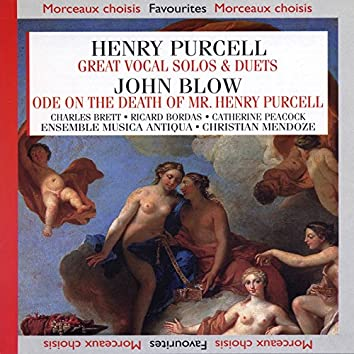 Great Vocal Solos & Duets : Ode On the Death of Mr. Henry Purcel