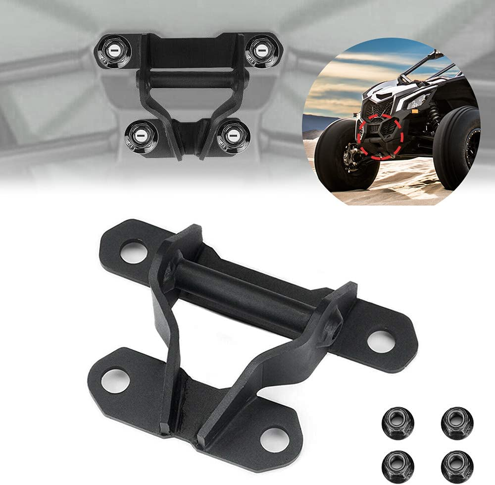 kemimoto UTV Rear Tow Hook Plate Hitch Our shop OFFers the best service Recover Pull Max 73% OFF