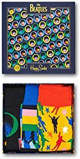 Happy Socks - Caja de regalo Calcetines The Beatles 3 pares XBEA08-0100 36/40 Mujer