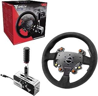 Thrustmaster TM Rally Race Gear Sparco Mod stuurwiel AddOn, 33 cm, suède, handrem/versnellingshendel, PS4/Xbox One/PC)