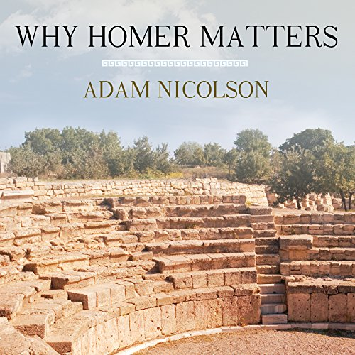 Why Homer Matters audiobook cover art