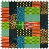 polstereibedarf-online Farbdruck Möbelstoff Patchwork