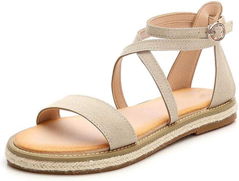 T-JULY Women Sandals Ladies Open Toe Platform Sandalias Woman Slingback Rubber Non-Slip Gladiator shoes for Summer