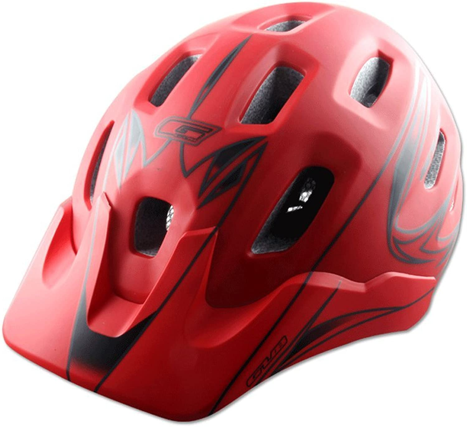 Bicycle Helmet, EPS and PC Materials Integral Forming Equipment A Mountain Country Highway Men and Women 18 Air Hole Super Light Ventilation Security Comfortable