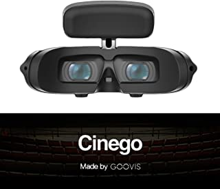 GOOVIS G2 Virtual Reality Travel 3D Theater VR Glasses 4K Travel Cinema Micro Sony M-OLED Screens 1920 x 1080 Displays for Xbox One PS4 Nintendo Switch